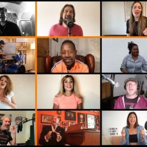 Sing a Song Screenshot Facebook Artists for Europe